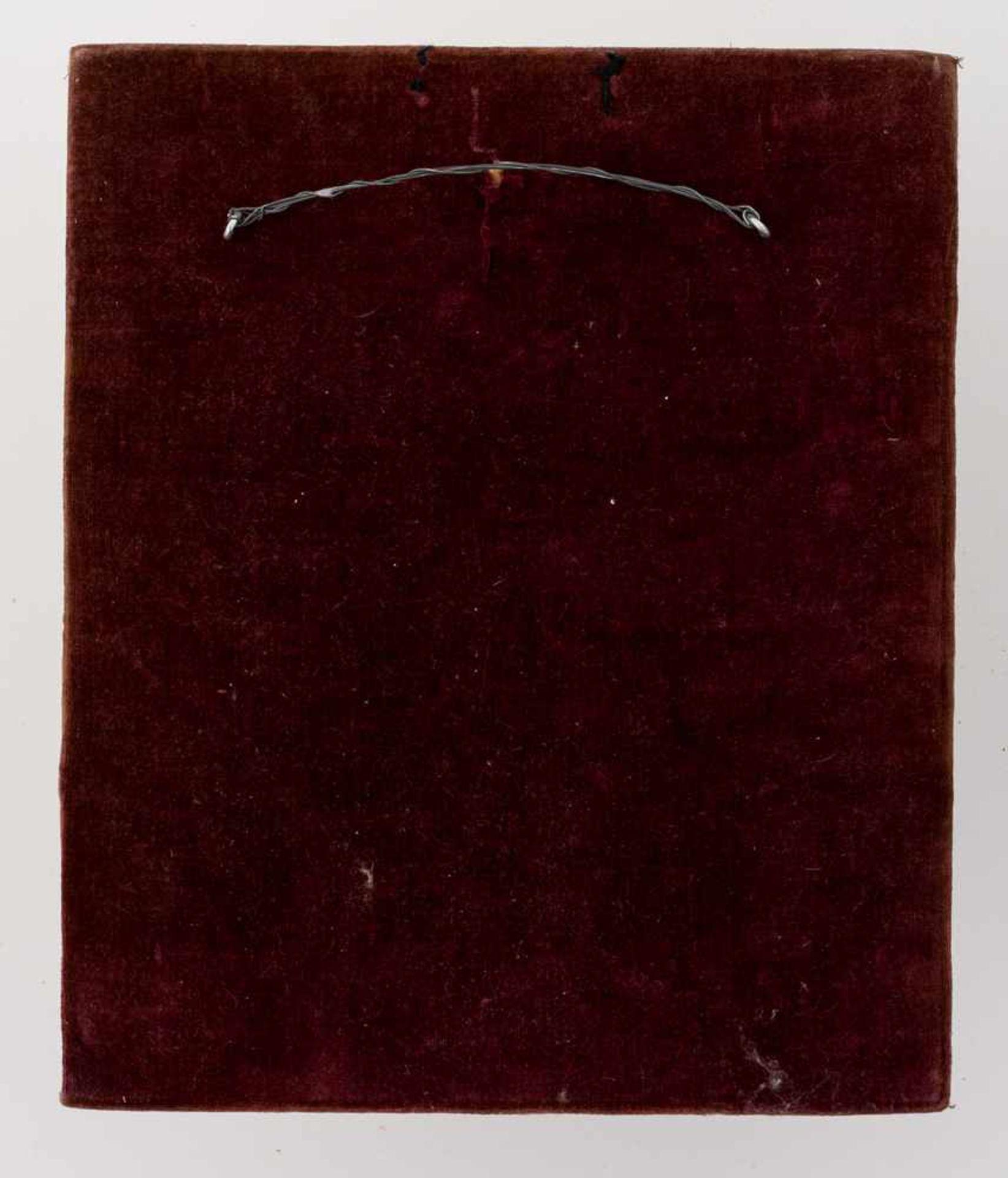"""*Gottesmutter von Tichvin Russische Ikone, um 1900, mit Silberoklad, Moskau 1908-1917 Meister: """"N. - Bild 2 aus 3"""