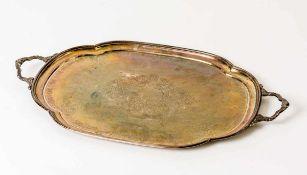 Tablett Silber (1299g), Moskau 1894 Beschaumeister: Alexander Smirnov (1878-1895) Meister: Vasily