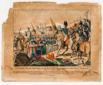 Übergabe der Festung Varna an das russische Belagerungsheer unter Kaiser Nikolaus I. den 11. Oktober