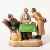 *Der Pacht-Einsammler Porzellan-Manufaktur Gardner, 1926-1930 14 x 16 x 10,3 cm Provenienz: