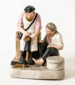 *Schuster Porzellan-Manufaktur Gardner, 1927-1931 17,5 cm hoch Provenienz: Norddeutsche Sammlung *