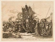 Des russischen Feld-Marschalls Fürsten von Galliczin Victorie über die Türkische Armee und
