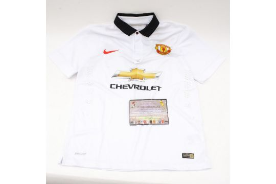 9dbe42b97 Signed Football Shirt  Manchester United Interest - A signed Angel ...