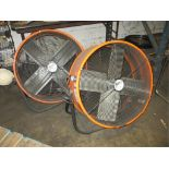 Ventimatic Maxx Air Lot: (2) 2ft Tilt Heavy Duty Fans. HIT# 2188114. Building 1. Asset(s) Located at