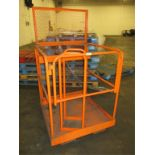 3ft Forklift Man Basket. HIT# 2188124. Building 2. Asset(s) Located at 1578 Litton Drive, Stone