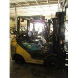 Komatsu FG30SHT-16 4-Wheel LP Gas Forklift Truck [battery dead, propane not included]. MFD: 2007;