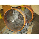 Ventimatic Maxx Air Lot: (2) 2ft Tilt Heavy Duty Fans. HIT# 2188115. Building 1. Asset(s) Located at