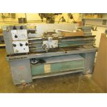 """Lathe. Harrison M300 Centre Lathe with 6"""" 6-Jaw Chuck, 1 3/8"""" Spindle Bore, Spindle Speeds: 40-"""