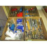 Assorted Tools. Lot: Assorted Tools. Includes: Porting Tools, Radius Cutters, Woodruff Key-Slot
