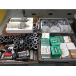 CNC Accessories. Lot: Assorted CNC Accessories. Includes: (17) S26 Collet Pad Sets; (3) Hainbuch