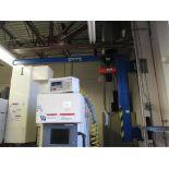 Jib Crane. 2014 Vestil JIB-LC-3 300 lbs Capacity Wall Mounted Jib Crane with CW 1/4-Ton Electric
