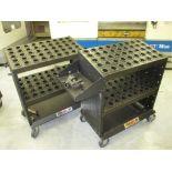 CNC Tool Cart. Huot SuperScoot Lot: (2) CNC CAT-50 Tool Cart Transports. HIT# 2205812. CNC Room.