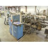 """Midwest Automation CF 1520 Core fab 25"""" and 28"""" pneumatic width adjustment, has Nordson DuraBlue"""
