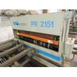 """Midwest Automation PR2151 Pinch Roller. Adjustable, set up for 12"""" to 48"""", manual moveable top and"""