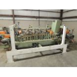 Midwest Automation 1531 Core Fab. Control panel and SQ D emergency shut off, stick guides,