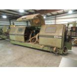 HOMAG VFL79/08/S Forming machine, Slautterback KB-20 hot melt unit, heated air blower, digital