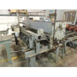 """Midwest Automation SS 2050 Brush Cleaner, 60"""" capacity, 3phase, 460v. Infeed table 120""""x55""""x36"""". SN#"""
