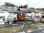"Lot 15 - Large Sump Pump, 144""L x 125""W x 77""H, 12"" Piping, Large Electric Motor, Pneumatic Actuator. Asset#"