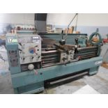 """Victor 1760T Engine Lathe. 17"""" swing, 60"""" Distance between Centers, 3 Jaw chuck, Tool Support,"""