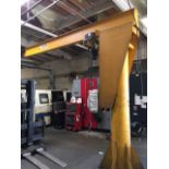 Arrow CraneHoist Corp. 2 Ton Jib Crane. HIT# 2207791. Asset Located in Huntington Beach, CA.