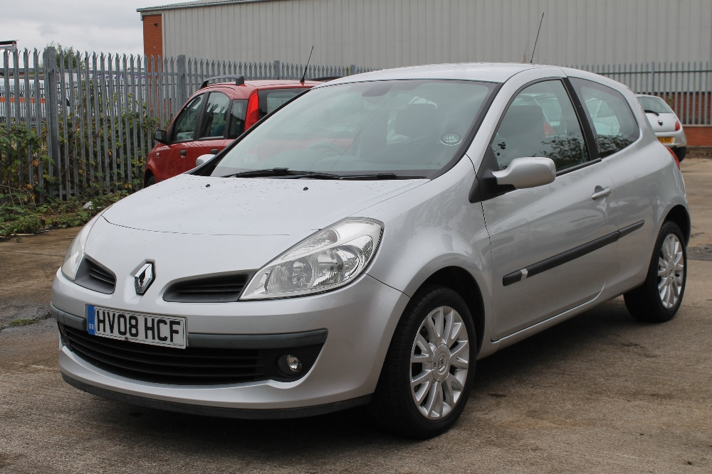 2008 Renault Clio Dynamique Turbo 100 Silver 1 1 Petrol