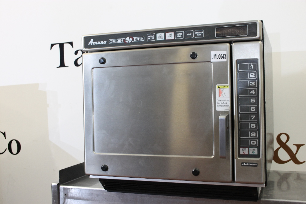 Amana Convection Express Stainless Steel Fan Assisted Oven