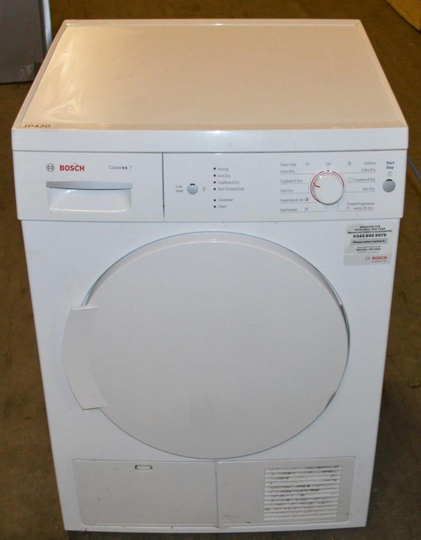 Tumble Dryers Espanol ~ Bosch classixx wte gb condenser tumble dryer kg
