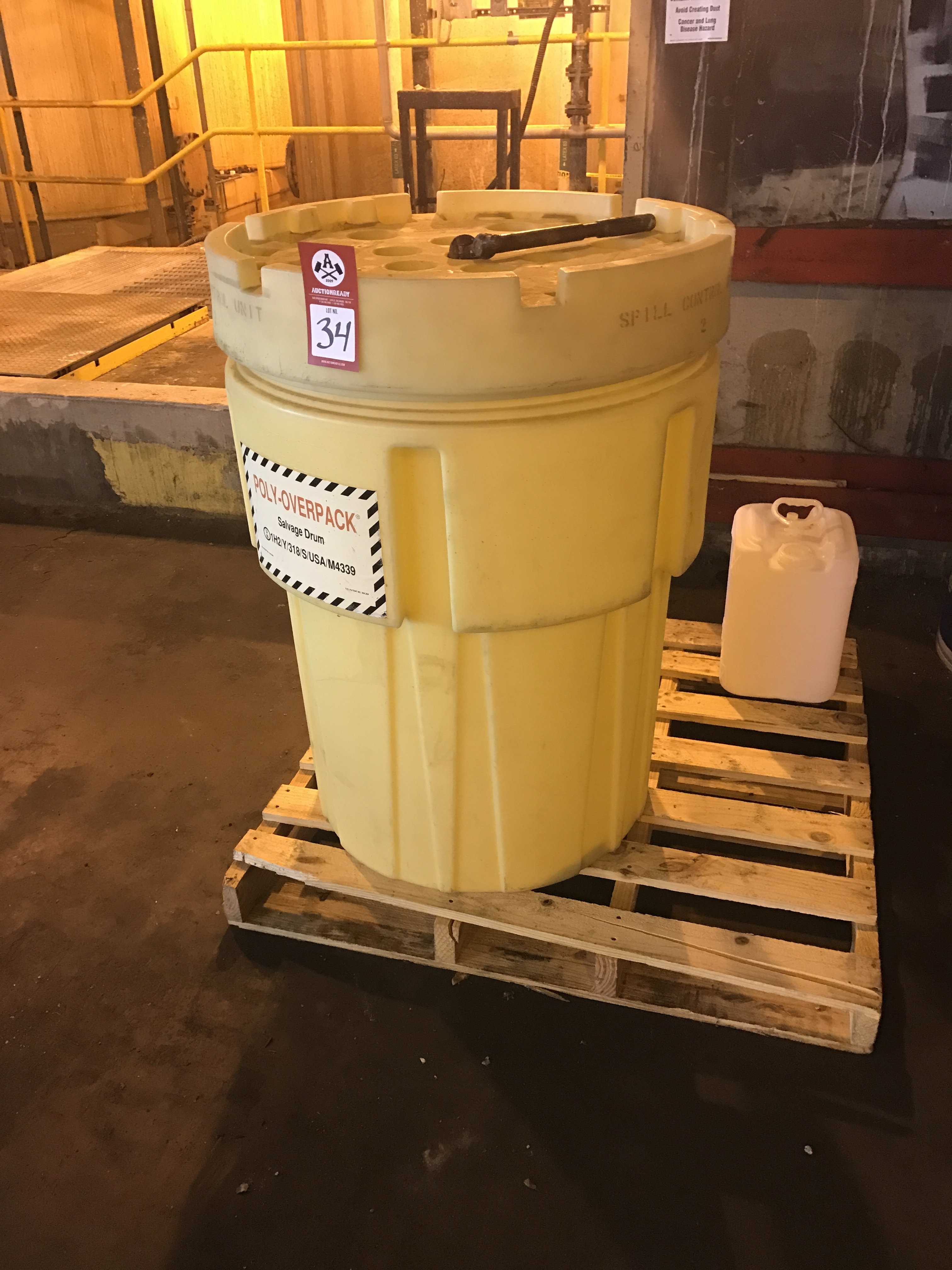 Lot 34 - Salvage Drums, lot of two (2)