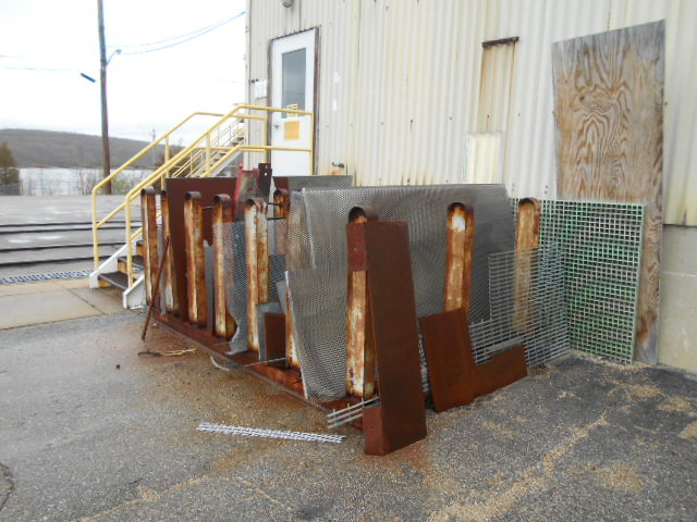 """Lot 39C - Lot of aluminum plates, up to 1"""" thick"""