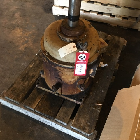 Lot 29D - Right angle gear box, 65 HP, 6:1 ratio, Amarillo Gear Co.