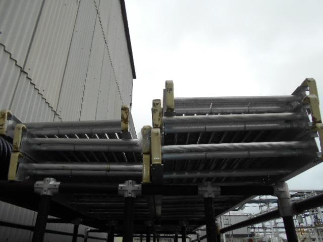 Lot 39B - lot of siz (6) 2 ft x 20 ft Werner aluminum staging, model 3220