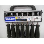 Kobalt 7 piece SAE/Metric Nut driver set