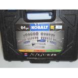"Kobalt 64-piece 3-in-1 SAE/metric 1/4"" 3/8"" & ½"" drive"