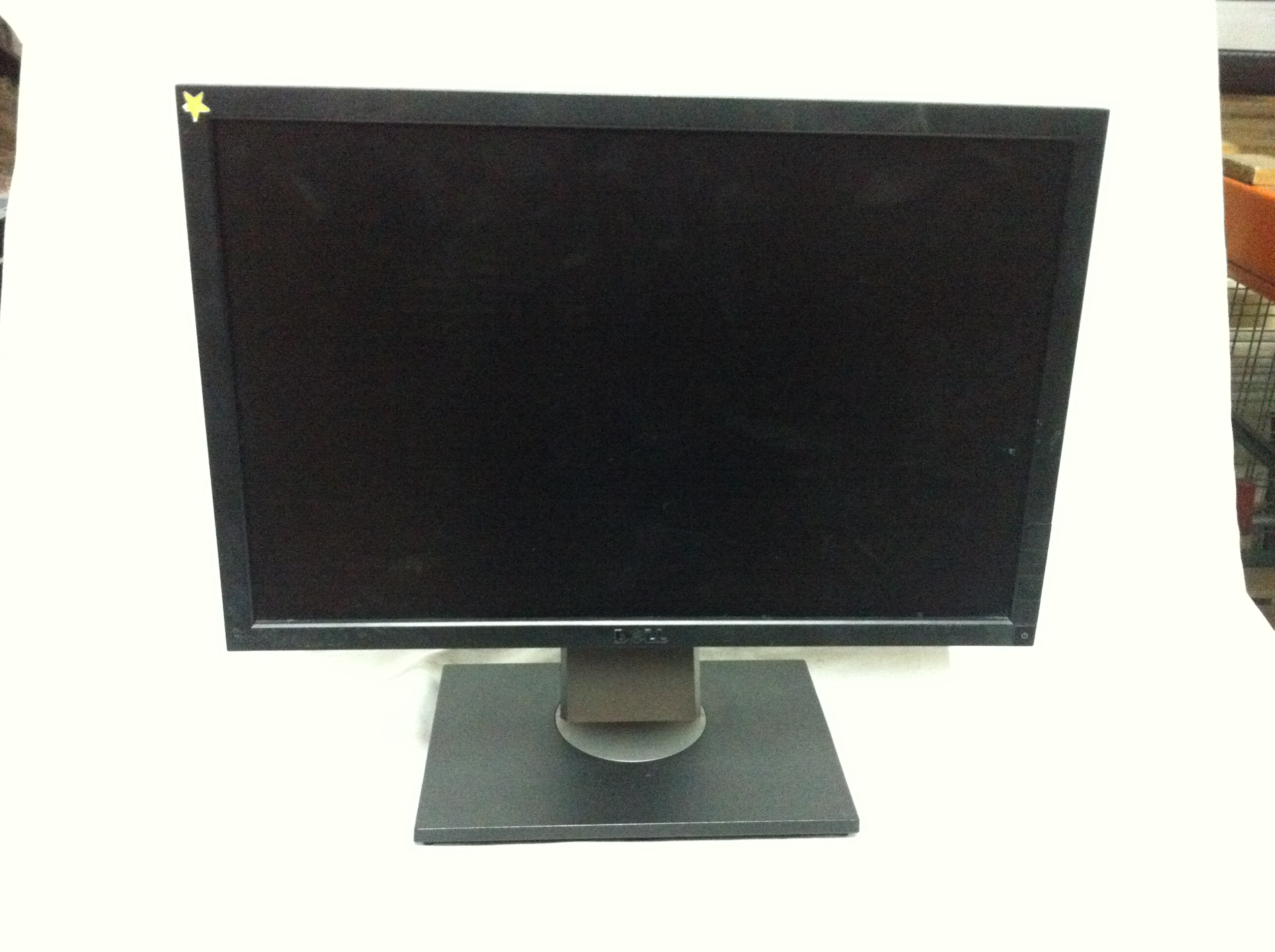 how to find monitor model number dell