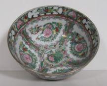 Bol à punch en porcelaine de CANTON (marque rouge chinoise), début XX – diamètre [...]