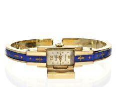 """Armbanduhr: dekorative, vintage Spangenuhr der Marke """"Ernest Borel"""", vermutlich um 1960 Ca. 11mm"""