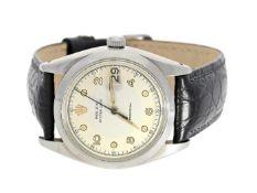 Armbanduhr: vintage Rolex Oyster Date Precision, Ref.6694 von 1960 mit sehr seltenem Zifferblatt Ca.