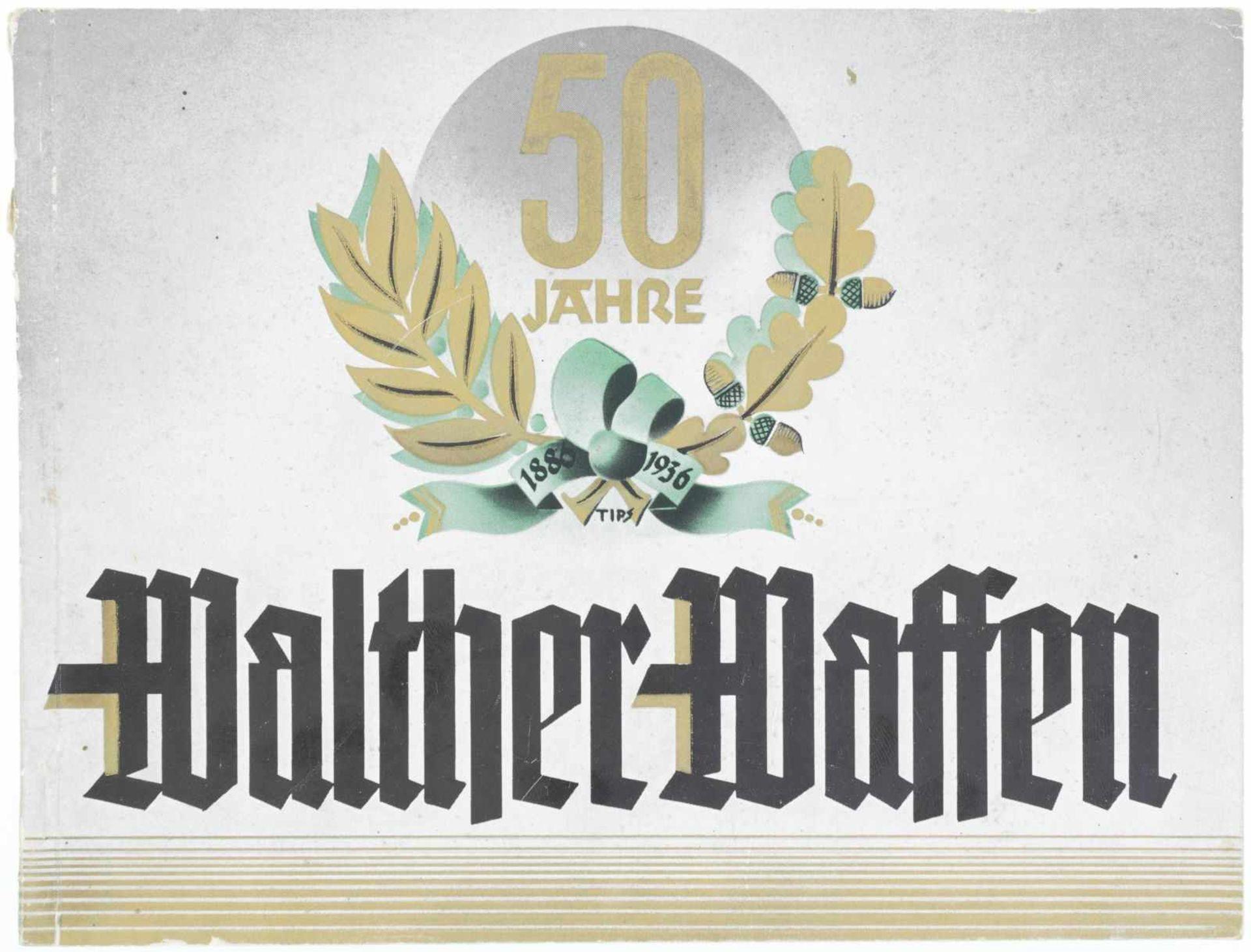 Originalkatalog, 50 Jahre Walther Waffen 1886-1936@, 52 S. illust. Zustand 2 HQS: 241753