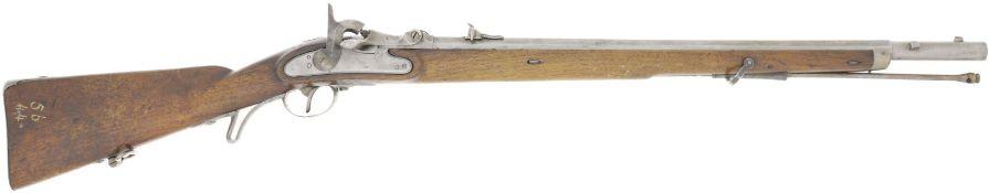 Einzelladerbüchse, Jägerstutzen M 1854/67, System Wänzl, Kal. 13.9mm@ LL 650mm, TL 1100mm,