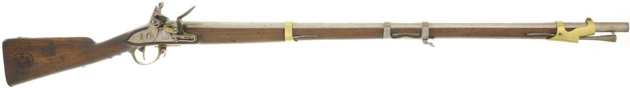Steinschlossgewehr, franz. Mod. an 9, Manufacture Imperial de St. Etienne, Kal. 17.6mm@ LL 980mm, TL