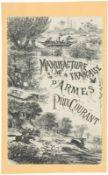 """Originalkatalog, """"Manufacture Francaise d'Armes / prix courant, 1890@ 218 Seiten reich"""