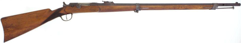 Zündnadelgewehr, Chassepot 1866, Privatversion, Hersteller unbekannt, Kal. 11mm@ LL 780mm, TL