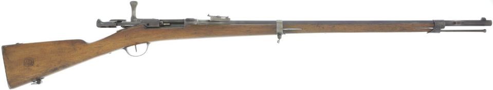 Zündnadelgewehr, Chassepot 1866, hergestellt bei Manufacture Imperial Tulle, 1869, Kal. 11mm@ LL