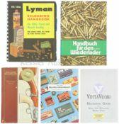Konvolut von 5 Büchern Wiederladen 1. Hornady Handbook of Cartridge Reloading, Rifle-Pistol, Vol.
