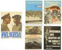 Konvolut von 5 Büchern 1. Die 44. Infanterie Division, 2. Infanterie gestern und heute, 3.