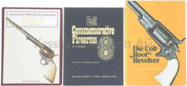 Konvolut von 3 Büchern Colt 1. America's Premier Gunmakers, Colt, Autor K.D. Kirkland, in englischer