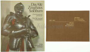 Konvolut von 2 Büchern 1. 100 Jahre Schweizerisches Schützenmuseum Bern, 1885-1985, 2. Das alte