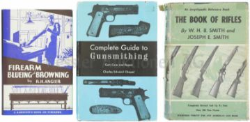 Konvolut von 3 Büchern 1. Firearm Blueing and Browning, by R.H. Angier, 2. Complete Guide to
