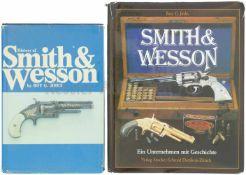 Konvolut von 2 Büchern S&W 1. History of Smith&Wesson, Autor Roy G. Jinks, in englischer Sprache, 2.