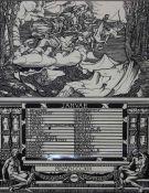 """Lot Grafiken- Hans Wilhelm Wildermann (1884 Kalk - 1954 Köln) """"Kalendarium"""", 12 Drucke nach"""